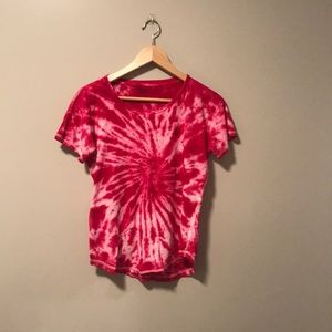 Madewell Tie Dyed Tee